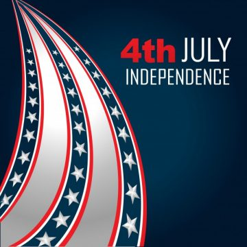 Free vector Design for independence day #17855