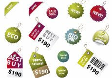 Free vector Eco labels collection #16480