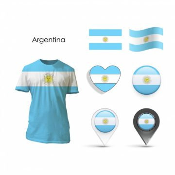 Free vector Elements collection argentina design #12819