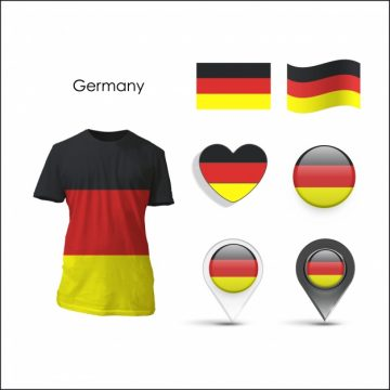 Free vector Elements collection germany design #12823