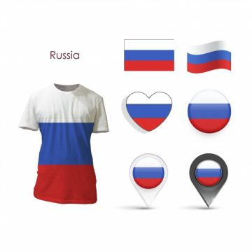 Free vector Elements collection russia design #12811