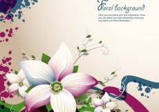 Free vector Exquisite Floral Design #15995