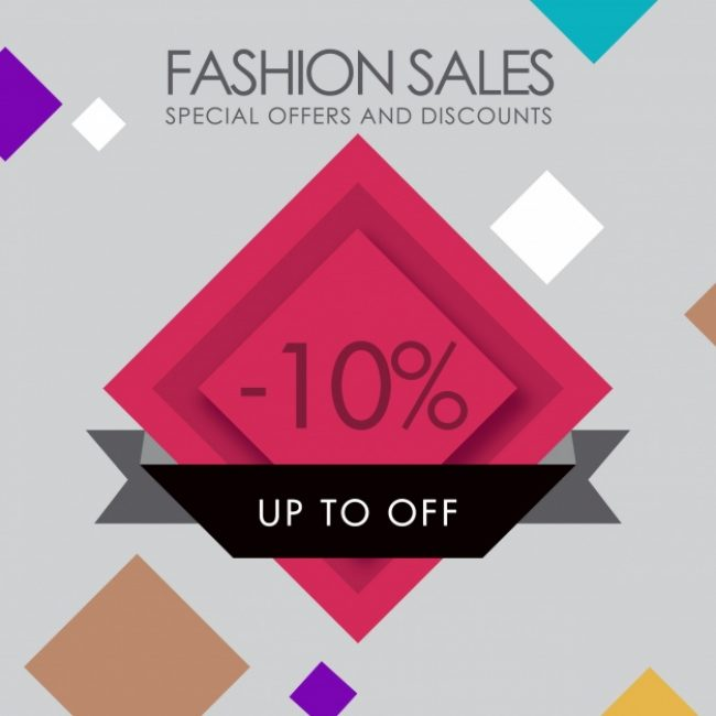 Free vector Fashion sales background #18871