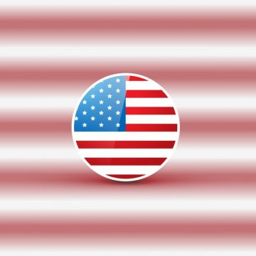 Free vector Flag design on blurred background for independence day #17843