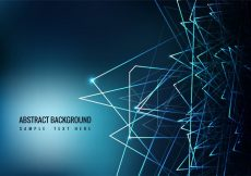 Free vector Free Blue Abstract Vector Background #17920