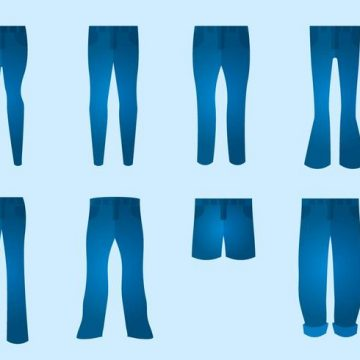 Free vector Free Blue Jeans Vector #12508