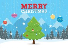 Free vector Free Christmas Vector Background #14960