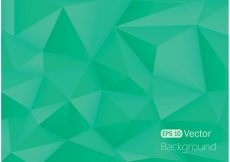 Free vector Free Polygonal Background Vector #16557