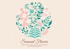 Free vector Free Spring Vector Background #14340