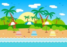Free vector Free Summer Vector Illustration #18225