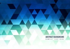 Free vector Free Vector Blue Polygon Background #12796