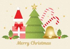Free vector Free Vector Christmas Background #15100