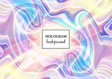 Free vector Free Vector Light Marble Hologram Background #13192