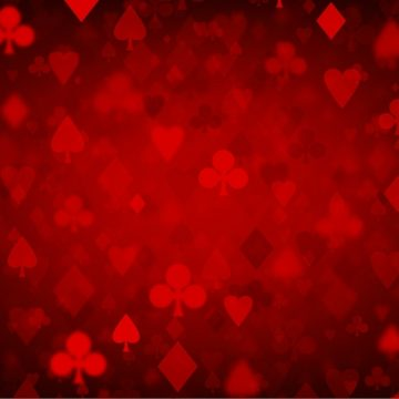 Free vector Free Vector Red Poker Background #15812