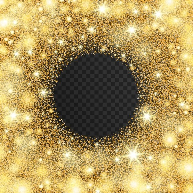 Free vector Golden light effect with stars #16085