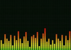 Free vector Graphic equaliser background #16913
