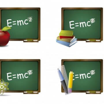 Free vector Green chalkboard collection #16418