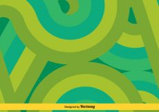Free vector Green/Turquoise Swishes Vector Background #14534