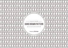 Free vector Hand Drawn Background Pattern #16576