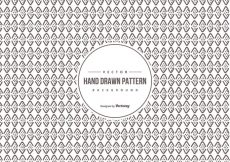 Free vector Hand Drawn Background Pattern #18702