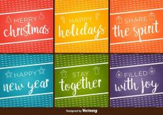 Free vector Happy Holidays Vector Backgrounds #15238