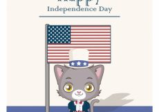 Free vector Happy independence day #15147