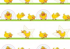 Free vector Illustration of a seamless pattern #13766