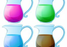 Free vector Illustration of different kind of juice #12839