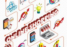 Free vector Illustration of startup concept in isometric graphic #13610