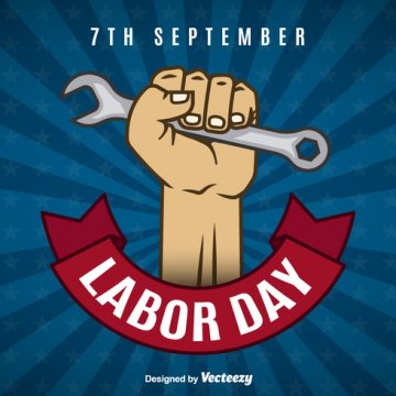 Free vector Labor day background #15288