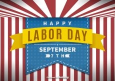 Free vector Labor day background #15334