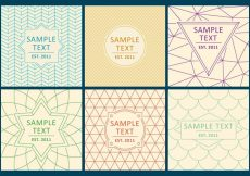 Free vector Line Logo Backgrounds #14230