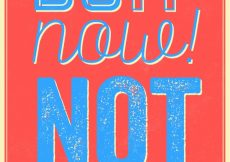 Free vector Motivational quote do it now not tomorrow #17081