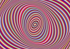 Free vector Multicolor spiral background #17025