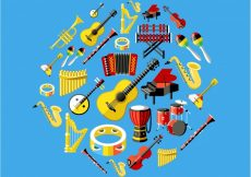 Free vector Music instruments collection #18238