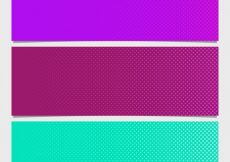 Free vector Purple and green dots background #17145