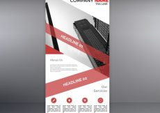 Free vector Red and white roll up #16776
