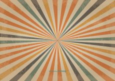 Free vector Retro Colored Sunburst Vector Background #14626