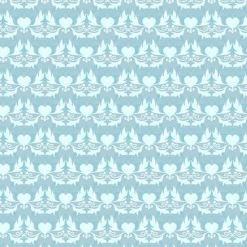 Free vector Sky Blue Vector Western Flourish Pattern #16100