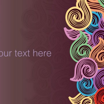 Free vector Stock Vector Swirly Doodle Background #14800