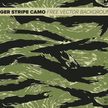 Free vector Tiger Stripe Camo Free Vector Background #12414