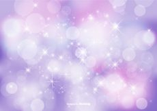 Free vector Abstract Bokeh and Glitter Background Illustration #18858