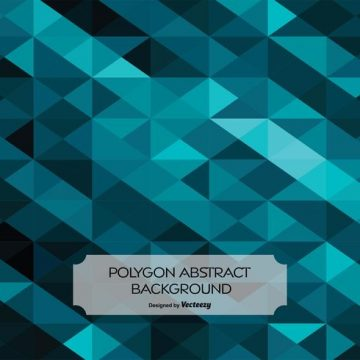 Free vector Abstract Polygon Style Background #17601