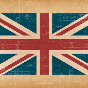 Free vector British Flag On Grunge Background #14976