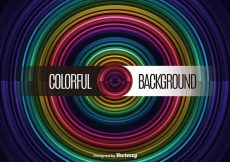 Free vector Circle colorful background #12484