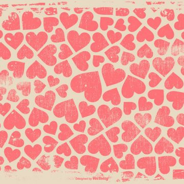 Free vector Grunge Hearts Background #12582