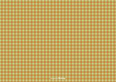 Free vector Orange/Green Flannel Pattern Background #14888