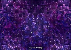 Free vector Pixelated Purple Background Of The Outer Space #13196