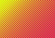 Free vector Yellow and pink halftoned dots background #15297