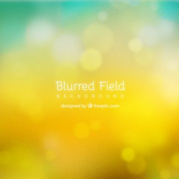 Free vector Yellow background with bokeh effect #15699